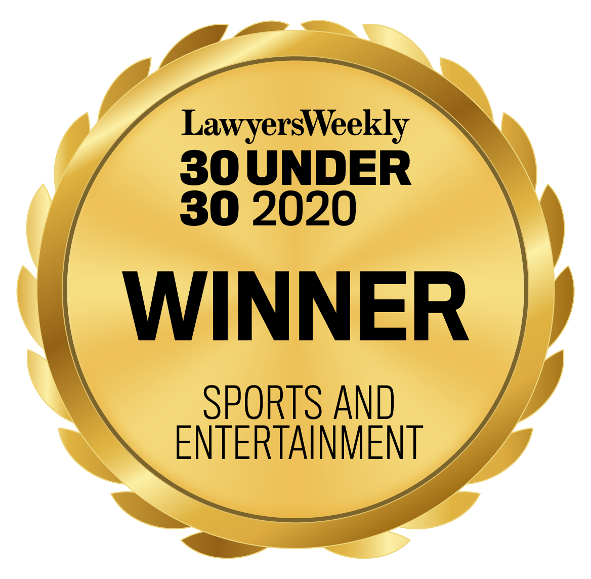 30U30_2020_Seal_Winner_Sports and Entertainment