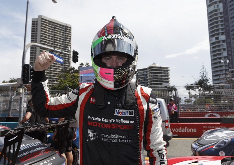 Family Lawyer wins races at the Porsche Wilson Security Carrera Cup Australia, Gold Coast 600