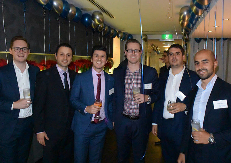 Our young lawyers collaborate together to host an End-of-Year Networking event.