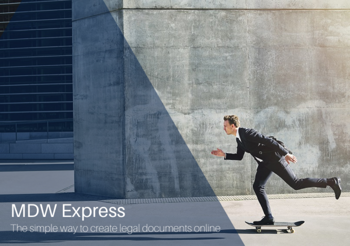 MDW Express: Affordable, custom-made legal documents for your business