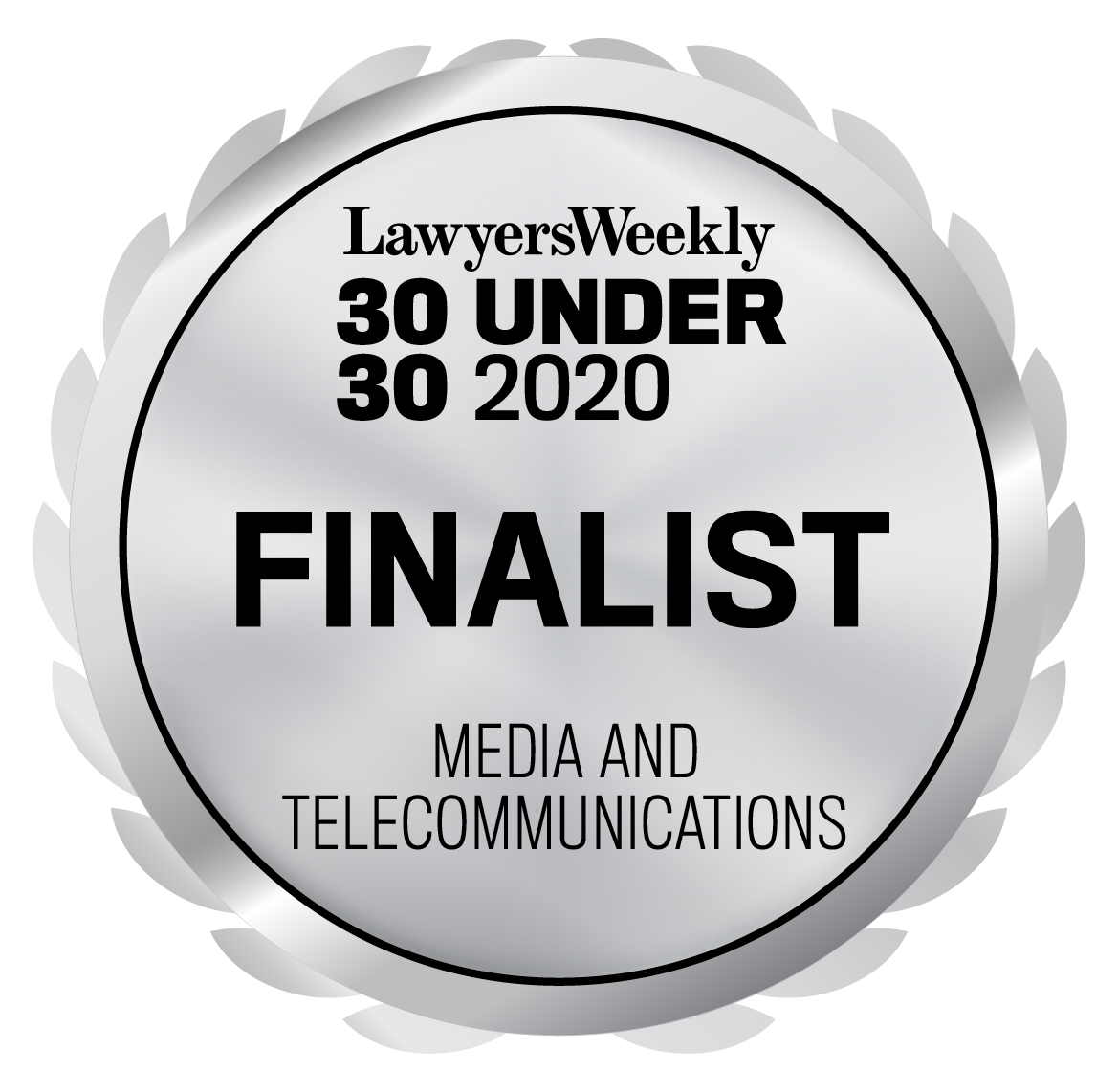 30 Under 30 Awards - Media and Telecommunications - Finalist - 2020 (1)