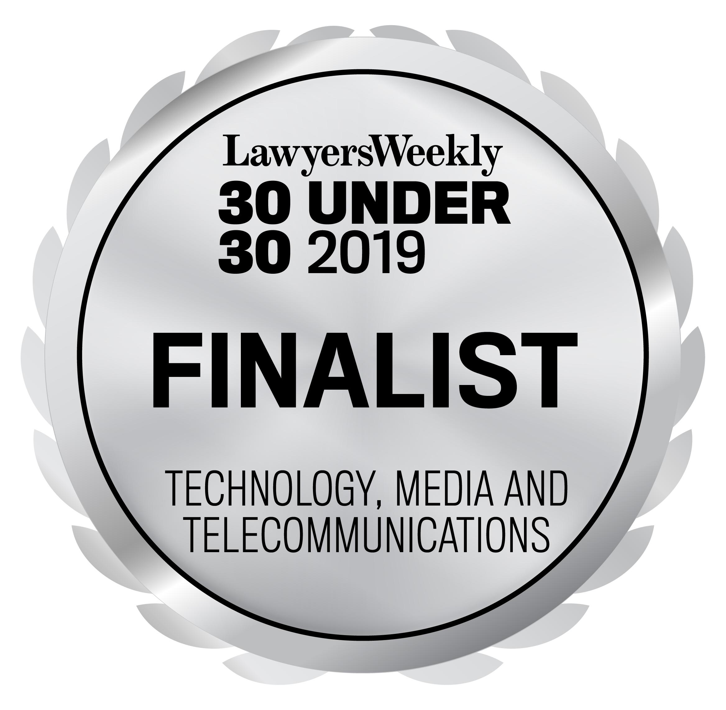 30U30_2019_Seal_Finalist_Technology, Media and Telecommunications