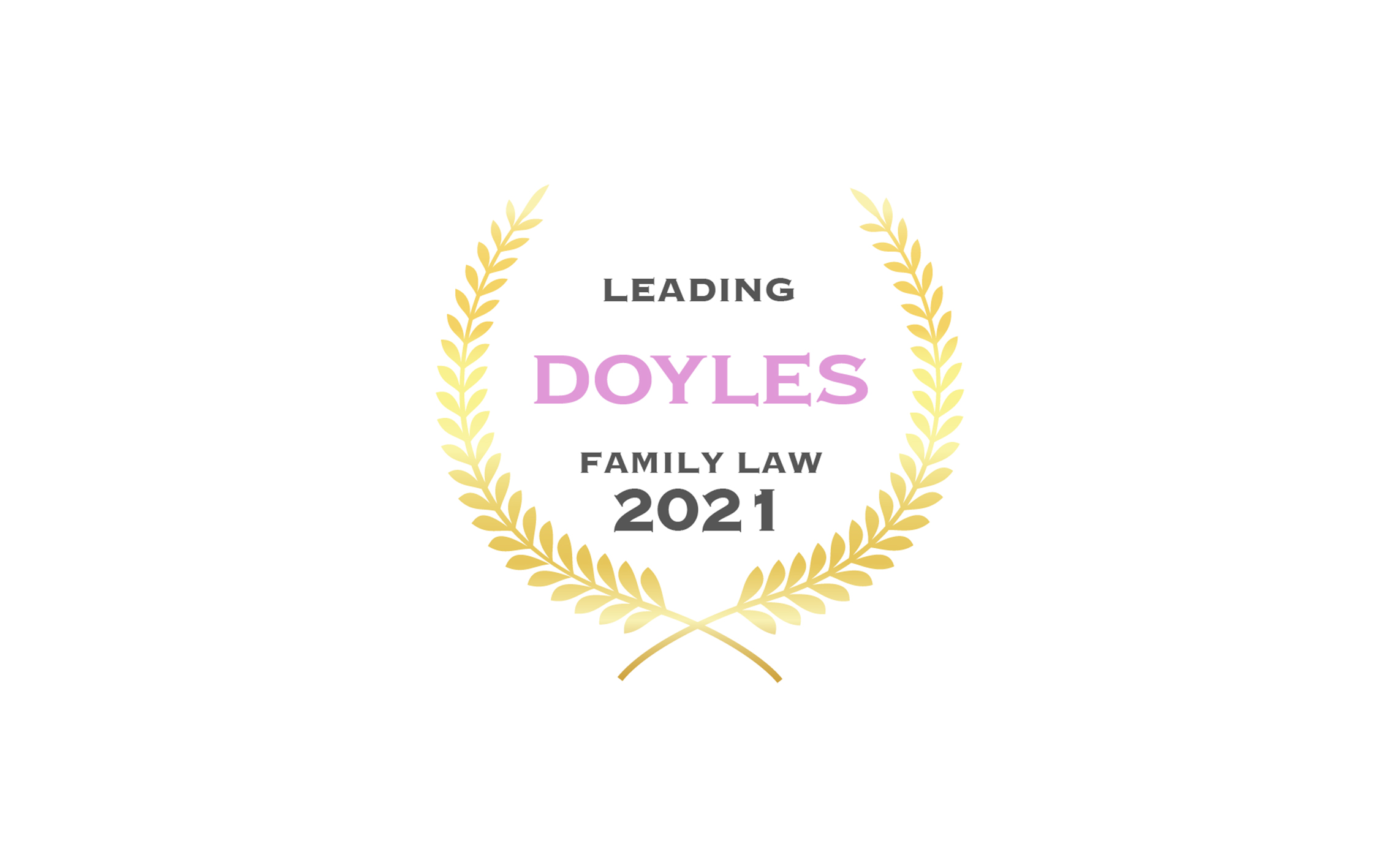 Family law team recognised by Doyle's Guide 2021